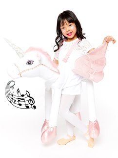 Ride On Light & Sound Unicorn