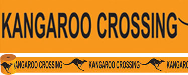 Kangaroo Crossing Roll - 15m Australian Decoration