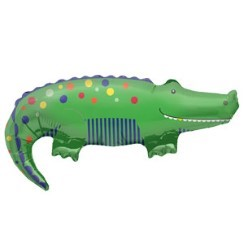 "Crocodile Supershape Balloon - 36"" Foil"