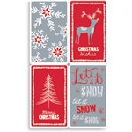 Cosy Christmas Gift Tags