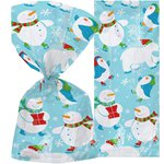 Polar Pals Christmas Cello Bags - 30cm