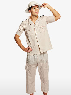 Safari Explorer - Adult Costume