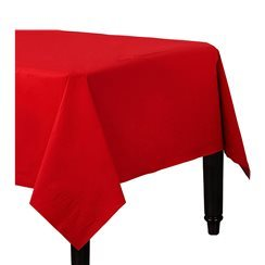 Red Tablecover - 3ply Paper - 1.2m x 2.8m