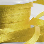 Old Gold Satin Ribbon - 6mm